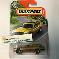 '71 Oldsmobile Vista Cruiser * Gold *  2019 Matchbox Case M