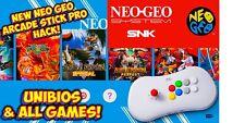 New Listingneo geo arcade stick Install Service (149 Games Installed)please Read Descript