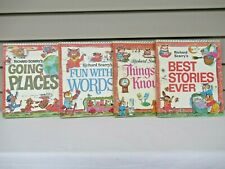 Richard Scarry's 1971 Books Best Stories Going Places Fun Words Things to Know