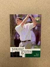 New listing 2001 Upper Deck Golf Cards #86 Matt Kuchar Rookie RC Young Guns - Free shipping