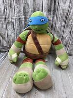 "Nickelodeon, Teenage Mutant Ninja Turtles, LARGE 25 "" Leonardo Plush Stuffed Toy"