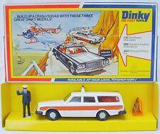 Dinky Toys Meccano 1:38 VOLVO 245 DL ESTATE POLICE CAR + DOG #243 MIB`78 RARE