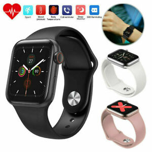 Women Men Smart Watch Body Temperature Fitness Tracker Wristband for iOS Android