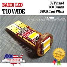 10X Bandi  T10 wide Car light  samsung LED  interior UVprotection  white bulb
