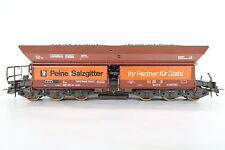 Roco HO/DC 4370 A Selbstentladewagen Fad DB Salzgitter Peine (CQ/489-17R2/6)