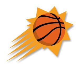 Phoenix Suns Precision Cut Decal / Sticker