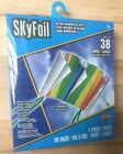 """X-Kites SkyFoil Nylon Frameless Kite Rainbow Pattern 38"""" Wide Large"""