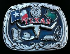 Texas State Western Longhorns Belt Buckle Boucle de Ceinture