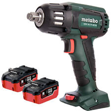 Metabo SSW 18 LTX 400 BL 18V Brushless Impact Wrench With 2 x 5.5Ah Batteries