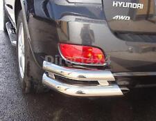 Hyundai Santa Fe 2006-2010 Rear Corner Skid Bumper Bar Protector Accessory