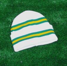 Celtic White Colours Retro Bar Hat - White Green & Gold - Made in UK