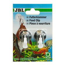 JBL Futterklammer (2x) mit Saugalter und beweglichem Clip, für Futter etc.