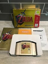 N64 Boxed - The Legend Of Zelda - Ocarina Of Time (Collectors Edition) VGC