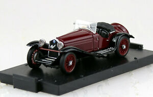 Alfa Romeo 2300 rot schwarz 1931 1:43 Brumm Modellauto R138-02