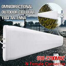 698-2700MHZ 3G 4G Directional Outdoor Cellular Yagi Antenna N Female for 4G
