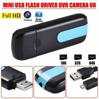 Mini HD DVR U8 USB DISK Camera Motion Detector Video Recorder Web Cam UK SELLER