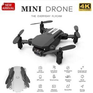 New Mini Drone 4K 1080P HD Camera WiFi Fpv Air Pressure Altitude Hold Foldable