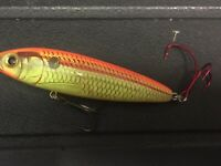 "NEW Bagley Knocker B Size 9 Topwater Knocking Bait 1//2 Oz 3-1//2/"" Long SHAD"