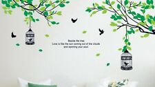 Beside the Tree - Wall Decal Wall Art Removable Sticker