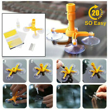 Windscreen Windshield Repair Tool Set DIY Car Wind Glass Chip Crack Kit Tool