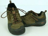 Keen Montford Mens 10.5 Casual Hiking Tennis Shoe Brown Orange Outdoor 1014365