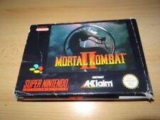 Jeux vidéo Mortal Kombat nintendo PAL