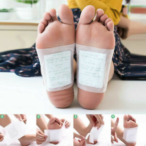 Chinese Natural Medicine Detox Foot Pads Detoxifying Toxin Cleansing Health Care