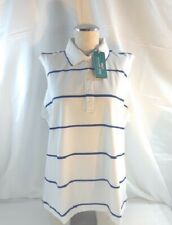 Vineyard Vines Polo GOLF PERFORMANCE Sleeveless WHITE Size XL New With Tags