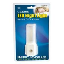Lloytron B9302 LED Safety Nightlight Low Energy Plug In Light Sensor Activation