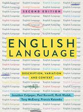 Jonathan Culpeper English Language