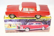 Dinky Toys 533 Mercedes Benz 300 SE Coupe very near mint in box
