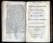 Mark Brandenburg-minéralogie et géologie 1828 - 1837 rare!