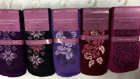 ladies thermal gripped slipper socks size 4-8