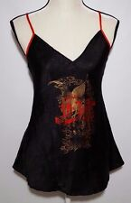 Baby Doll Nightgown Official Coca Cola Black Womens Large Sexy With Graphic