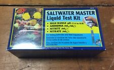 API Saltwater Master Liquid Test Kit PH Ammonia Nitrate 401M New In Box NIB
