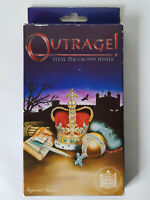 OUTRAGE STEAL THE CROWN JEWELS Vintage 92 Travel Board Game EXCELLENT CONDITION