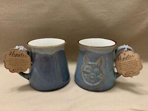 Large La Rochelle Coffee Mug Choose From Green, Hipster, Blue, Pink Purple, Etc.
