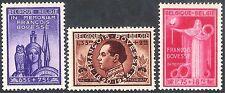 Belgium 1946 Francois Bovesse set mint SG1185/1186/1187 (3)