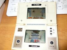 Original Nintendo Oil Panic Game & Watch Multi Screen   used japan