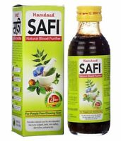 Hamdard Safi Syrup Herbal For Blood Purifier Remedy Acne Treatment 200ML ,100ML