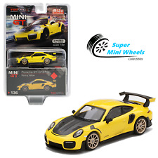 Mini Gt 1:64 Porsche 911 Gt2 Rs (Racing Yellow) #136