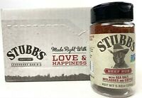 Pack of 6 Stubb's Beef Rub Spice With Sea Salt Molasses and Coffee 5.32oz Each