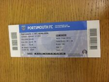 15/02/2014 Ticket: Portsmouth v AFC Wimbledon  (folded). Thanks for viewing this