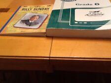 A Beka Video Manual And Billy Sunday Grade 6 Sixth Grade Good Condition Lot of 2
