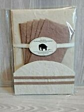 The Great Elephant Poo Poo Paper Company Limited Stationary Set. NEW