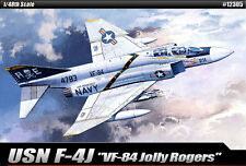 1/48 Usn F-4j Vf-84 Jolly Rogers # 12305 Academy Hobby Kits De Plástico Modelo