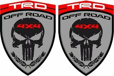 Toyoya Hilux Tacoma FJ TRD 4x4 Off Road 90mm wing Decals Stickers