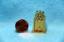 Dollhouse Miniature Antique Style Table Top Radio in Brass ~ Bl909