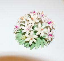 Bouquet Capodimonte Originale Con Fiori Autentico authentic porcelain Italy
