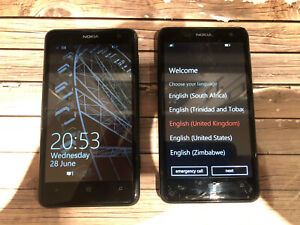 But One Get One Free Nokia Lumia 625 8GB -(Vodafone) Smartphone Used Condition